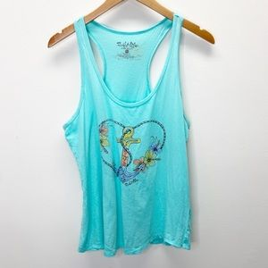 Salt Life Live Salty Blue Tank Top
